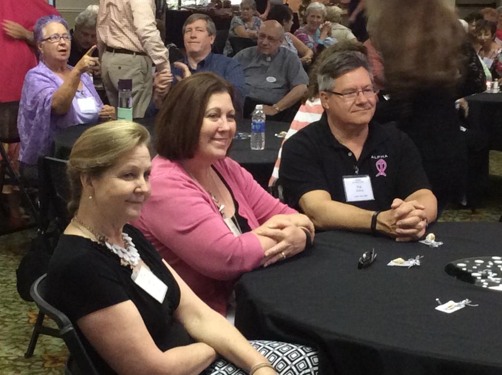 Elaine McCann, Michelle Boland, and Pat Boland. (Image credit: Ellen Kalenberg)